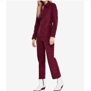 Free People Pants - Free People Take Me Out Cord Jumpsuit